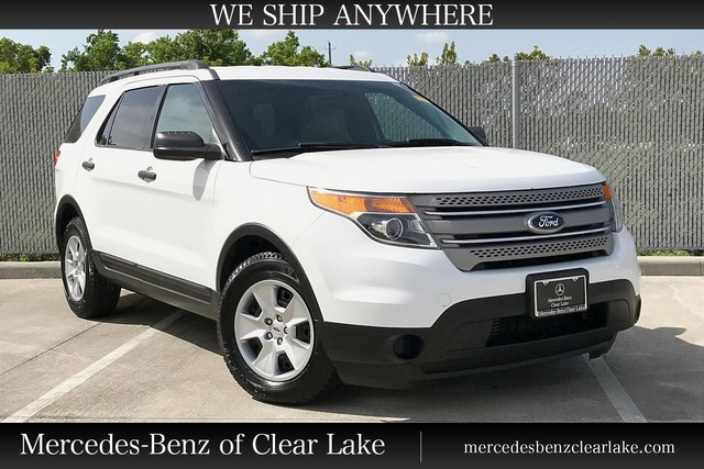 Pre Owned 2013 Ford Explorer Base Leather Clean Carfax Suv In