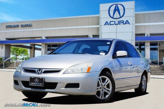 2006 Honda Accord Sedan >> Honda Accord Sdn Front Wheel Drive Sedan