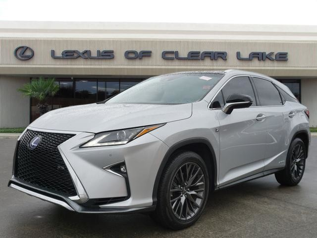 Pre Owned 2016 Lexus Rx 450h F Sport Panoramic Navigation