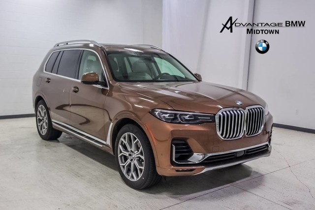 New 2019 Bmw X7 Xdrive50i Sport Utility In Houston Klb40092