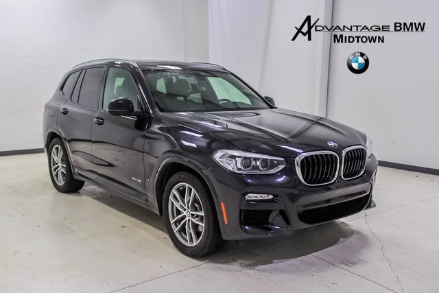 Pre Owned 2018 Bmw X3 Suv In Houston Jld58868 Advantage Bmw Midtown
