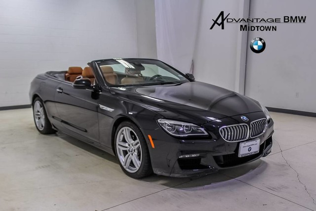 2017 Bmw 6 Series >> Certified Pre Owned 2017 Bmw 6 Series Convertible In Houston