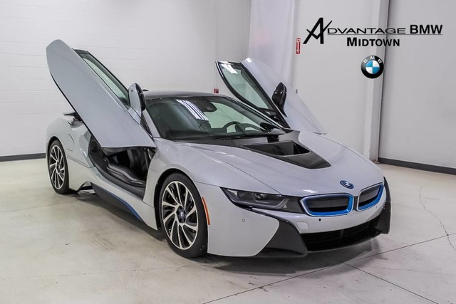 Pre Owned 2016 Bmw I8 Coupe In Houston Gv675935 Advantage Bmw Midtown