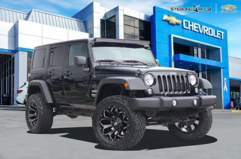 Pre-Owned 2017 Jeep Wrangler Unlimited Sport...***ALREADY EQUIPPED WITH A 4 PRO COMP LIFT!! SITTING ON 20 X 12.5 BLACK AND BRUSHED FUEL OFF-ROAD WHEELS WRAPPED IN 35 FUEL TIRES*** ILLUMINATE THE WAY AHEAD WITH THE BRIGHT 52 LED BAR!!!***