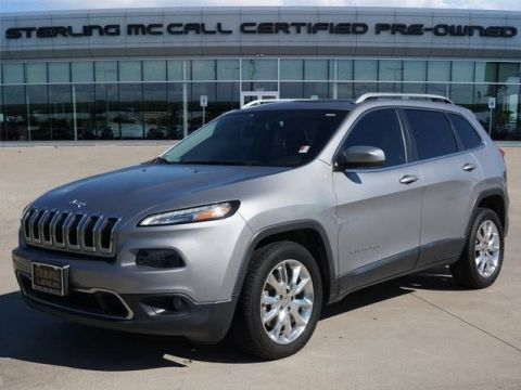 Pre-Owned 2015 Jeep Cherokee Limited Luxury Group
