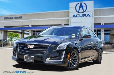 Pre-Owned 2016 Cadillac CTS Sedan Luxury Collection NAVI PANORAMIC ROOF BLACK CHROME PACKAGE PARK ASSIST LOW MILES