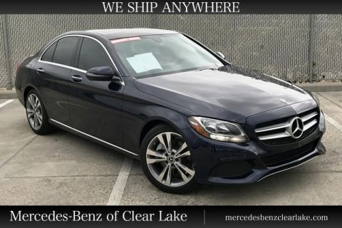 Pre-Owned 2018 Mercedes-Benz C-Class C 300 Sedan in Houston
