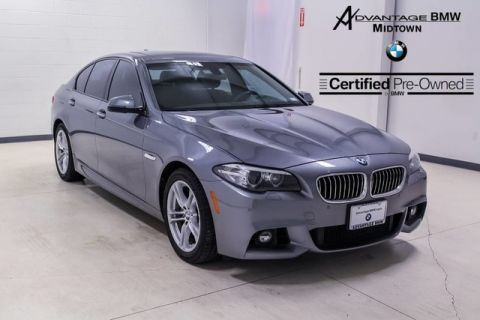 Certified Pre-Owned 2014 BMW 5 Series